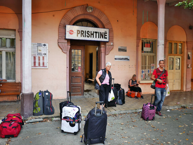Železničná stanica Priština, mesto