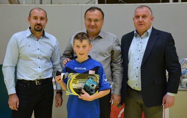 Najlepším strelcom turnaja sa stal Samuel Šobáň (TJ Slovan Bojná).