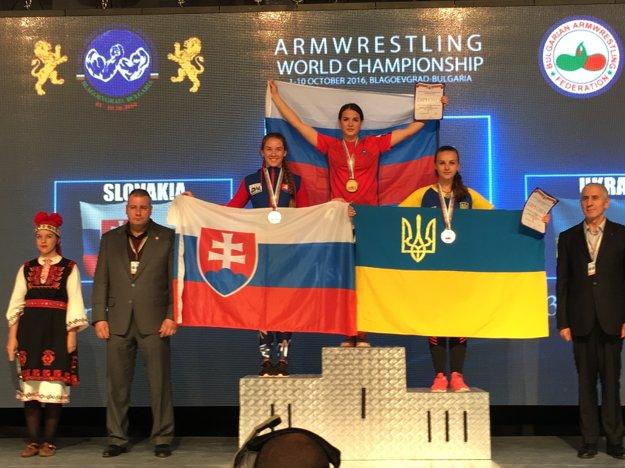 Na Majstrovstvách v Bulharsku sa stala vicemajsterkou.