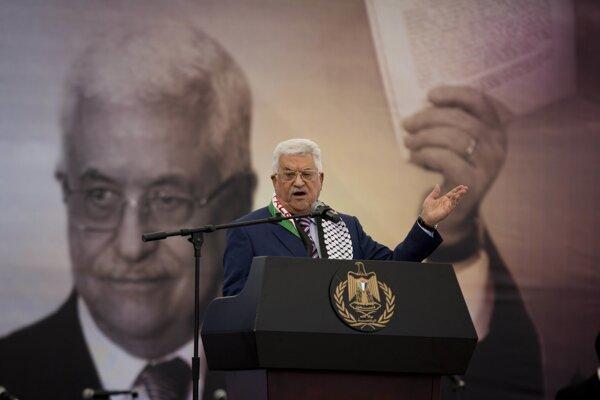 Mahmúd Abbás.