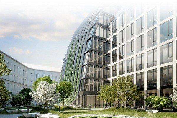 Pražský projekt Florentinum patrí k najväčším súčasným stavbám. Ponúka 41 000 m2 kancelárskych plôch a dokončený má byť v roku 2014.
