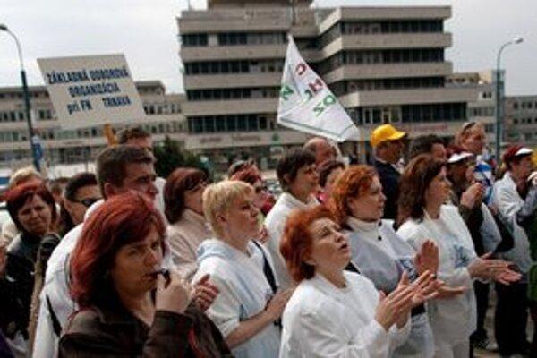 Sestry na proteste očakávajú aj podporu lekárov, pacientskych organizácií a verejnosti.