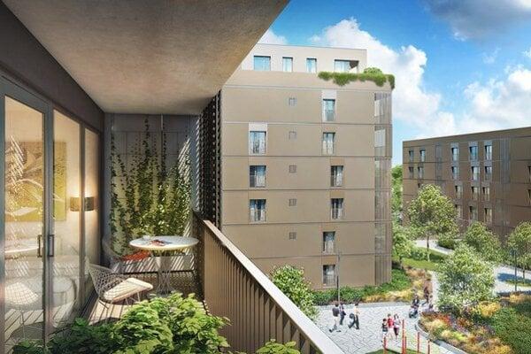 Súčasťou celého projektu budú, okrem plánovaných 335 bytov, aj priestory občianskej vybavenosti o rozlohe viac ako 1000 štvorcových metrov a 767 parkovacích miest.