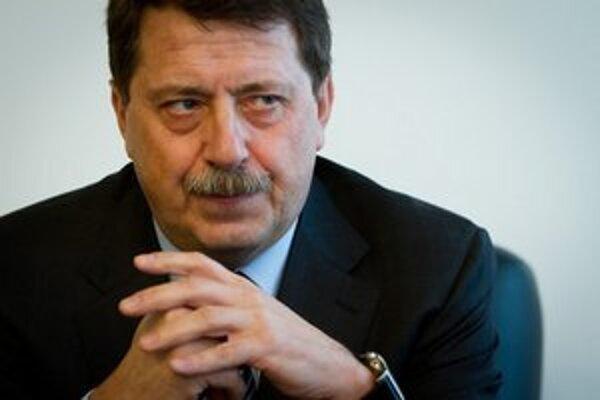 Predseda parlamentu Pavol Paška.