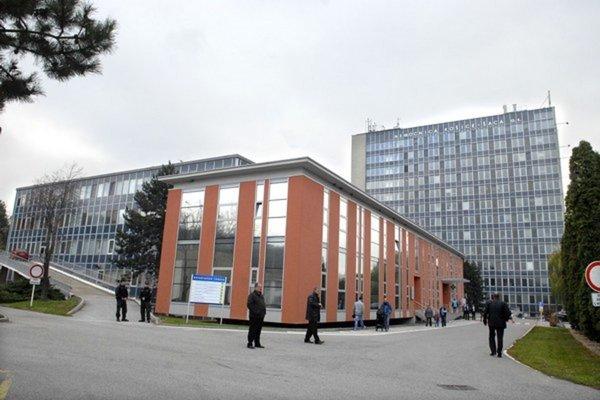 Nemocnica v Košiciach Šaci.