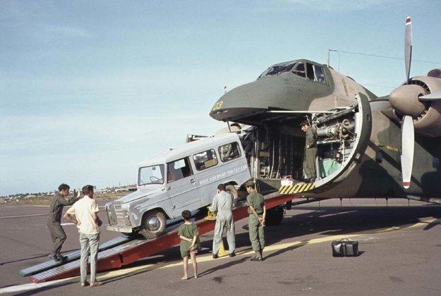Niekoľko kusov modelu slúžilo novozélandskému zdravotníckemu tímu počas vojny vo Vietname
