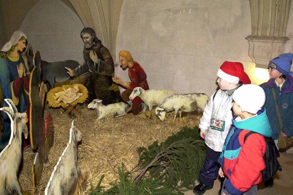 Vianoce trvajú na bojnickom zámku viac ako mesiac.