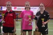 Zľava: Natália Divinská (Topoľčany), Zuzana Peková (Trnava) aLenka Dzurová (St. Turá).