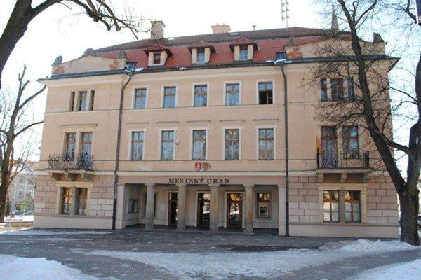 Budova Mestského úradu v Levoči.
