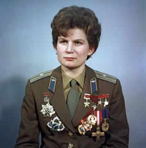 Sovietska kozmonautka Valentína Terešková (80), prvá žena vo vesmíre