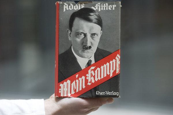 Jedno z vydaní Hitleroho manifestu.