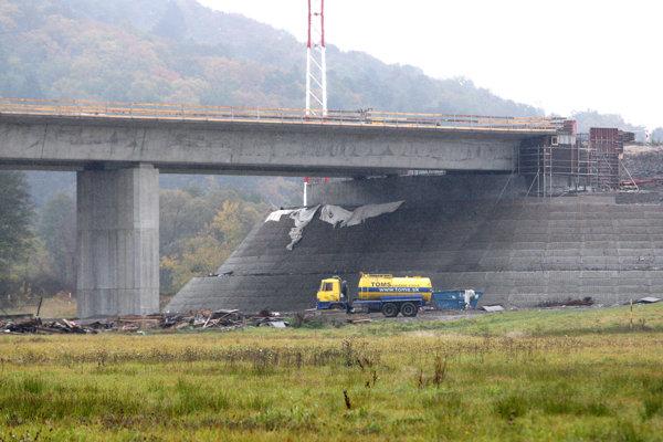 Výstavba rýchlostnej cesty.
