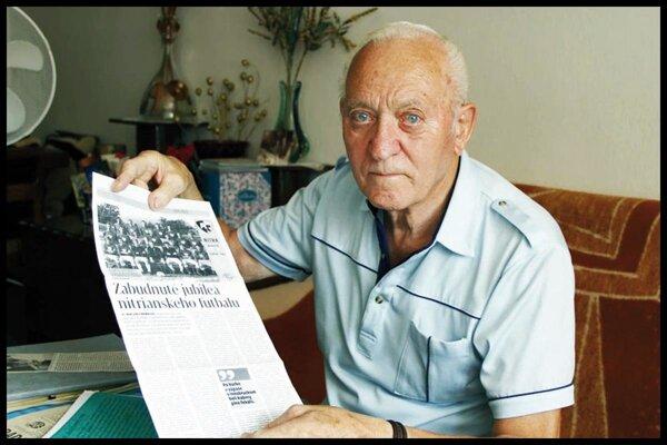Bývalý šéf nitrianskeho futbalu Albert Panák už nie je medzi nami.