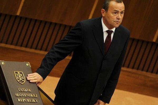 Poslanec Národnej rady a krajský šéf Smeru Tibor Glenda.