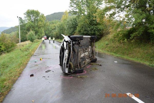 Tragická dopravná nehoda sa stala aj v septembri pri Hornej Vsi.