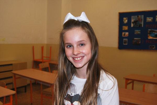 Alexandra Sofia Kovácsová. Šiestačka, ktorá si zatancovala s Justinom Bieberom.