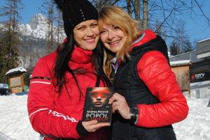 Spisovateľka Andrea Rimová a herečka Jana Hubinská.