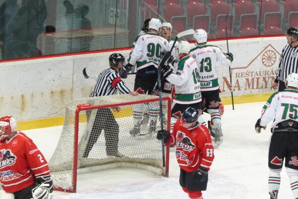 Ilustračné foto zo zápasu Skalica - Považská Bystrica.