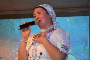 Hanka Servická. Speváčka duchovných i ľudových piesní.