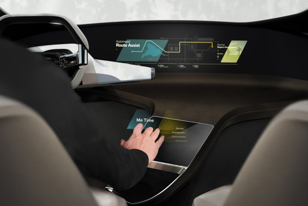 BMW ukáže na výstave CES interiér s holografickým displejom