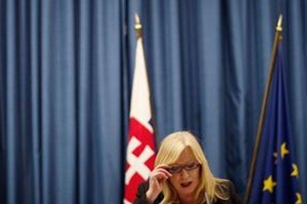 Premiérka Iveta Radičová.
