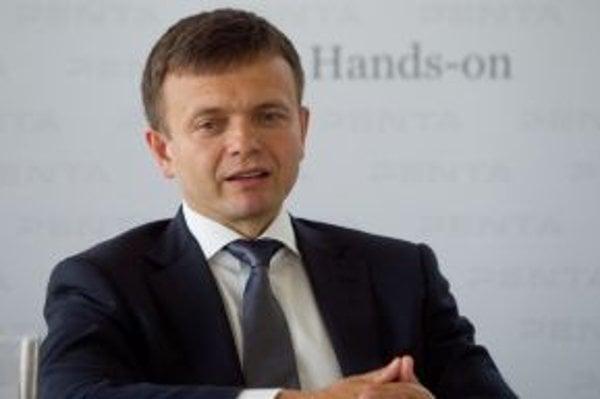 Spolumajiteľ spoločnosti Penta Jaroslav Haščák.
