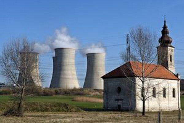Jadrová elektráreň Mochovce.