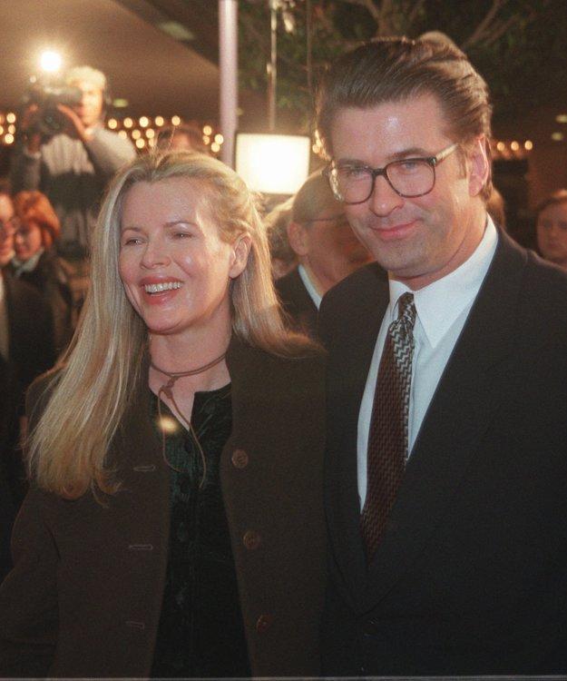 V roku 1996 s vtedajším manželom Alecom Baldwinom
