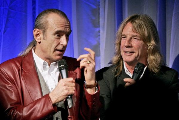 Rick Partiff (vpravo) s ďalším členom skupiny Francisom Rossim.