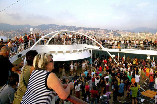 Na výletnej lodi budete sami iba vtedy, ako to naozaj budete chcieť.