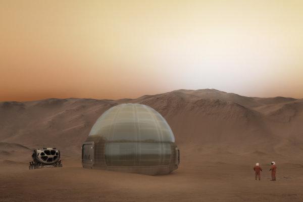 Mars Ice Home.