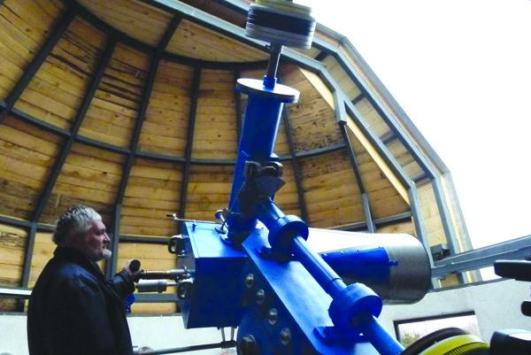 Pozorovanie oblohy obnovia v Tekovskej hvezdárni vo februári.