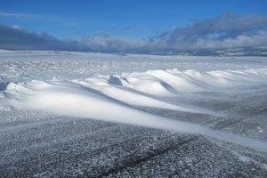 Snehové jazyky a záveje. Ilustračné foto.