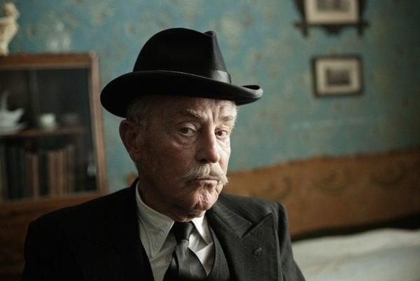 Jan Tříska v pripravovanom filme Po strništi bos.