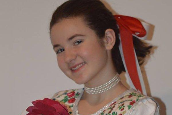 Laura Fuzériová. Naspievala piesne do prvého albumu, ktorý jej čoskoro vydajú.