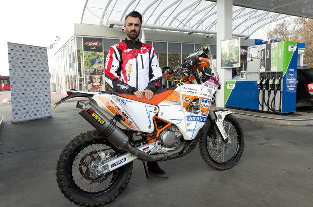Ivan Jakeš mal pred tohtoročným Dakarom smelé ambície.