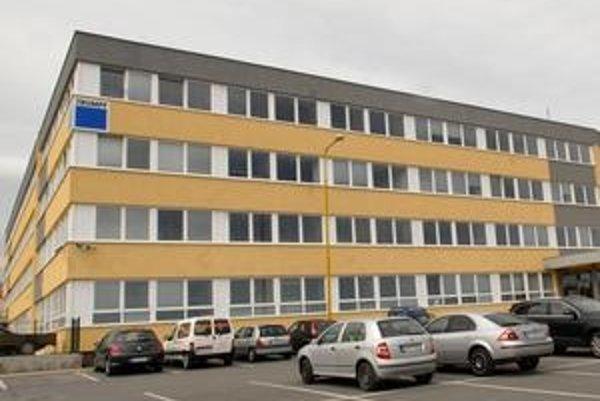 Budova daniarov v Košiciach.