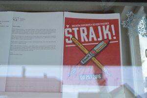 Pre štrajk nakoniec zatvorili iba zopár škôl v okrese.