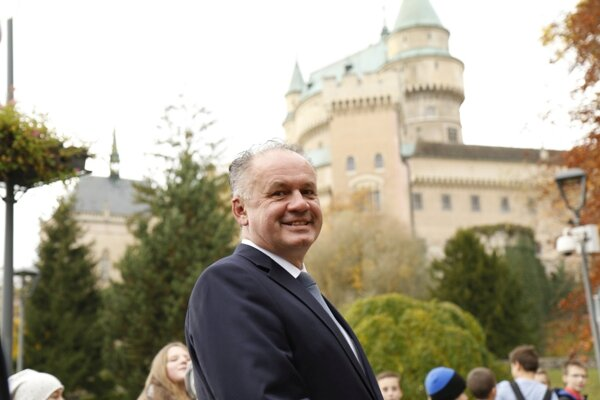 Koncom októbra zavítal na návštevu do okresu Prievidza prezident Andrej Kiska.