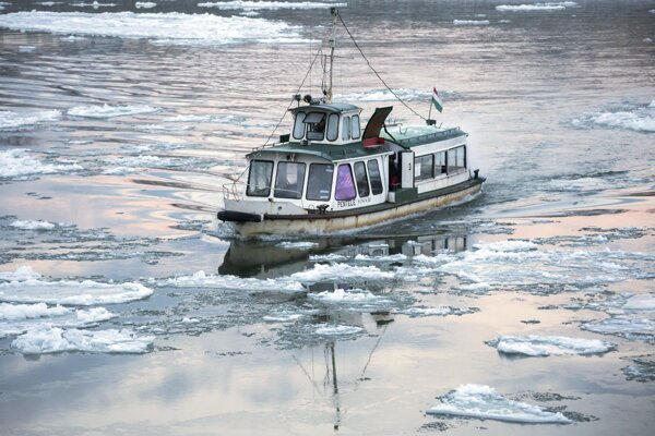 Mrazy na Dunaji.