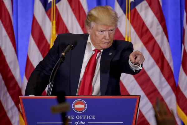 Nastupujúci americký prezident Donald Trump.