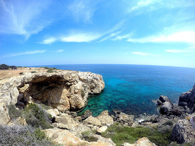 Cyprus patrí medzi najteplejšie miesta Stredozemného mora.