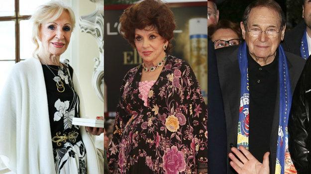 slávna Mária Kráľovičová, Gina Lollobrigida, Robert Hossein