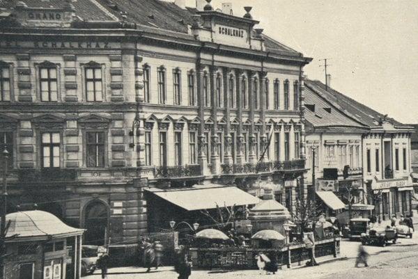 Hotel Schalkház - obľúbené miesto silvestrovských zábav.