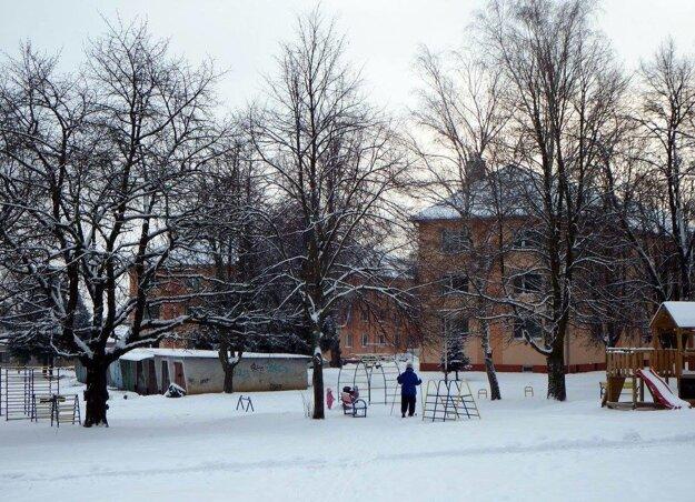 Na lyžiach sa dá dostať až domov.