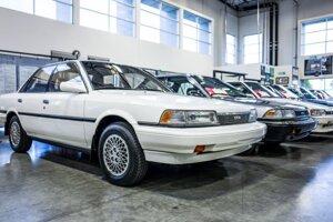Toyota Camry z roku 1989 je prvým vozidlom vyrobeným v závode Toyota Motor Manufacturing Kentucky