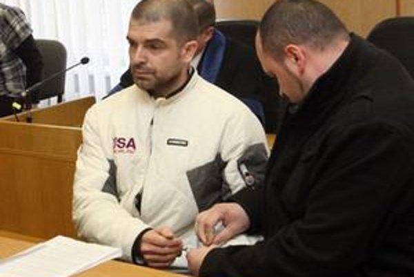 Jaromír Ruda na pojednávaní súdu.