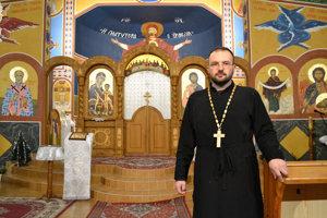 Na snímke duchovný správca Pravoslávnej cirkevnej obce v Sabinove Vasyľ Kuzmyk.