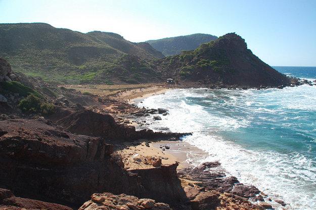 Cala del Pilar, Menorka