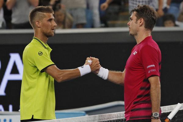 Kližan odohral skvelý zápas proti Wawrinkovi.